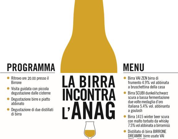 ANAG Vicenza - Serata Birrone 4 dicembre 2014 - Ore 20.00