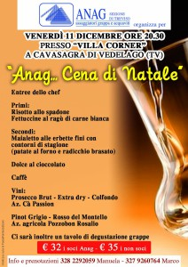 cena Natale Anag Treviso - 11.12.2015